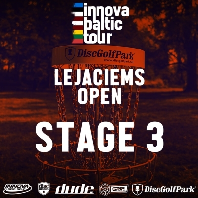 3.STAGE OPENED: Innova Baltic Tour Lejasciems Open